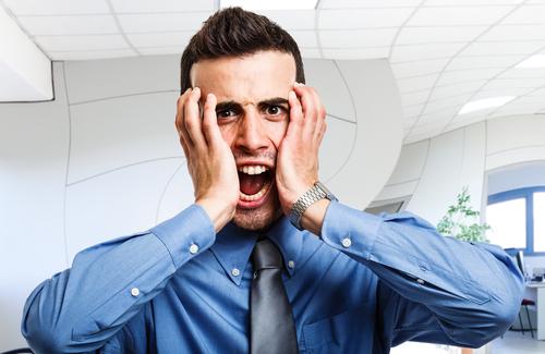 Employees Suffer Under Fluorescent Light