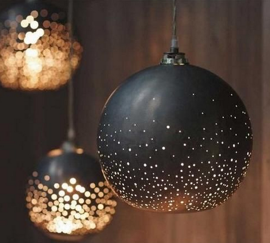 globe lighting DIY