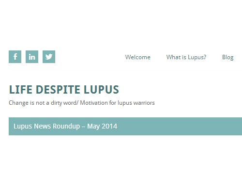 life despite lupus