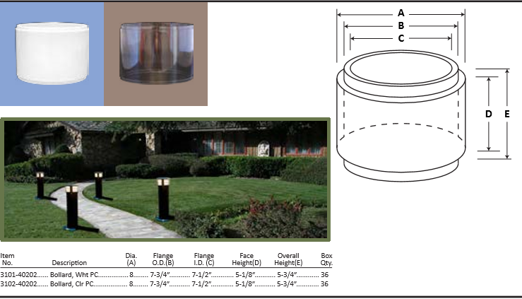 bollards lighting at diffuser specialist .com