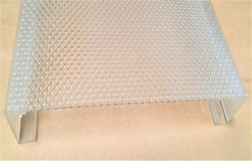 2- SIDE RAIL (1-1/2″, 1-5/8″,1-7/8″or 2″), 1 PIECE FLAT SHEET .125 THICKNESS Up to 10″ max