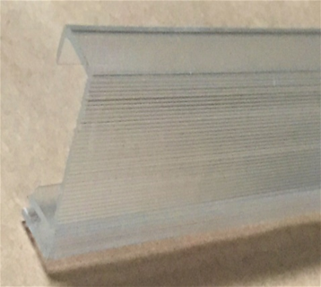 2- SIDE RAIL (1-1/2″, 1-5/8″,1-7/8″or 2″), 1 PIECE FLAT SHEET .125 THICKNESS OVER  10″ – 16″ max